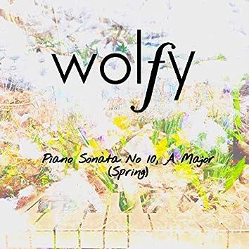 Piano Sonata No. 10, a Major
