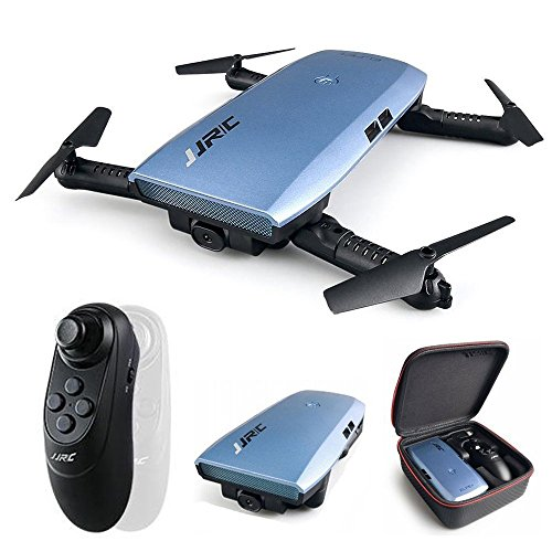 HappyCow JJRC H47 Elfie Plus 720P WiFi FPV Foldable Selfie Drone Quacopter with Gravity Sensor Control Altitude Hold RTF