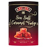 Baileys Salted Caramel Fudge, Fudges mit Meersalz in hochwertiger Geschenkdose