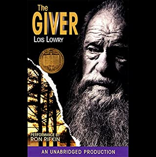 The Giver                   Written by:                                                                                                                                 Lois Lowry                               Narrated by:                                                                                                                                 Ron Rifkin                      Length: 4 hrs and 49 mins     88 ratings     Overall 4.4