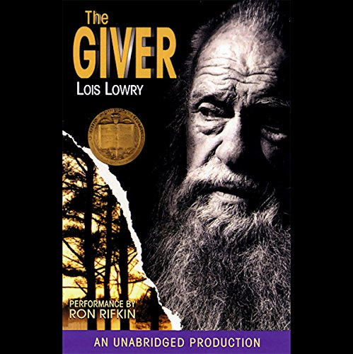 The Giver audiobook cover art