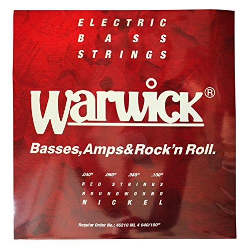 Warwick Red Níquel Bajo Eléctrico ML
