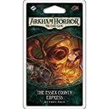 Arkham Horror The Card Game The Essex County Express MYTHOS PACK   Horror Game   Mystery Game   Cooperative Card Game   Ages 14+   1-2 Players   Avg. Playtime 1-2 Hours   Made by Fantasy Flight Games