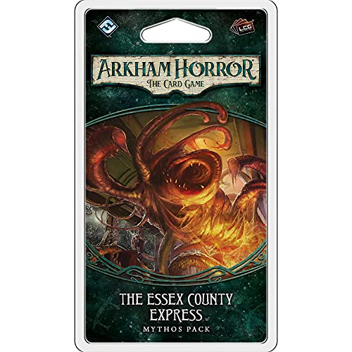 Juego de cartas Fantasy Flight Games AHC04 Arkham Horror The Essex County...