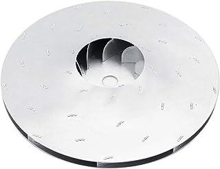 Accesorios de Aspirador Giratorios Aspa de Ventilador de Aluminio 2 Tamaños 112mm/125mm Pieza de Repuesto Nuevo Duradero(Diámetro125mm)
