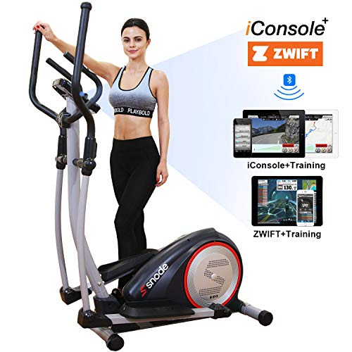 SNODE E20i Magnetic Elliptical Machine Trainer Fitness Exercise Equipment for Home Workout...