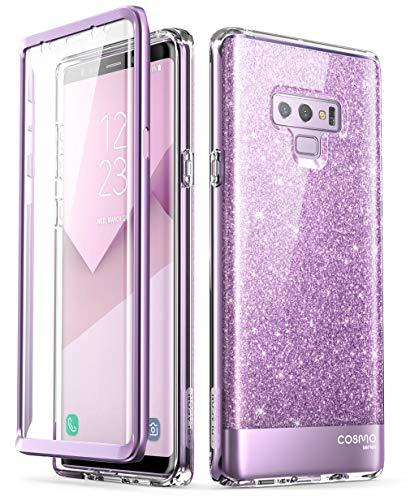 i-Blason Cosmo Full-Body Bumper Protective Case for Galaxy Note 9 2018 Release, Purple