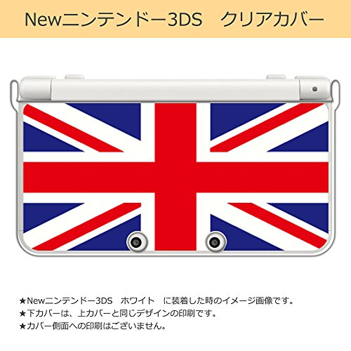 sslink New ニンテンドー 3DS クリア ハード カバー ユニオンジャック(カラー) イギリス 国旗