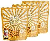 Corn Poppets | Granos de Maíz para Palomitas Dulces Sabor Caramelo | Palomitas Saludables , 100 %...