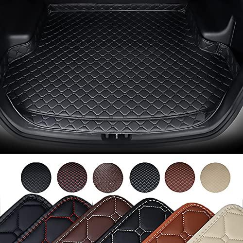 HIZH Kofferraummatte Kofferraumschutz für BMW Alle Modelle X3 X1 X6 Z4 F30 F10 F11 F25 F15 F34 E46 E90 E60 E84 E83 E70 E53 G30 E34 X4 Kofferraum Schutzmatte,Schwarz