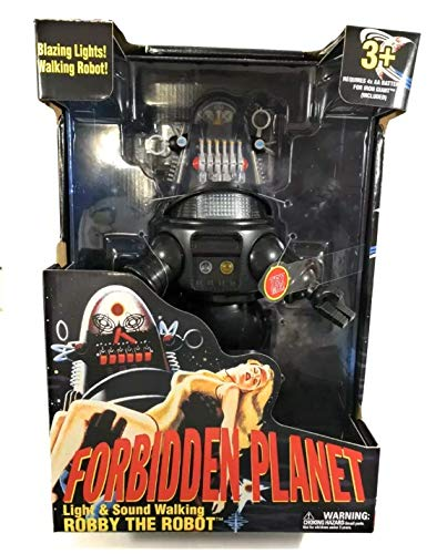 Forbidden Planet Robby The Robot Light & Sound Walking Toy, 15u0022