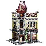 OATop Modular Haus Bausteine Modell - 2193+ Teilen Ruiniertes Theater Klemmbausteine Architektur Custom Bauspiel Kompatibel mit Lego
