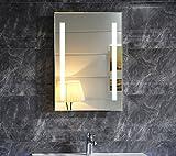 Dr. Fleischmann LED-Beleuchtung Badspiegel Badezimmerspiegel GS055N Lichtspiegel Wandspiegel...