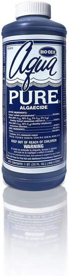Bio-Dex Latest item Aqua Pure Algaecide AP132 Soldering Ounce 32