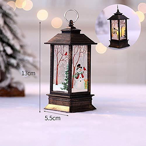 FGJHGH Weihnachtsschmuck Für Zuhause Led 1 Stück Weihnachtskerze Mit LED Teelicht Kerzen Weihnachtsbaum Dekoration, F