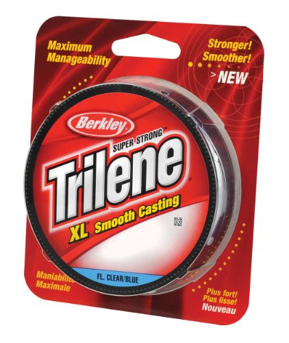 Berkley Trilene XL Smooth Casting Monofilament Service Spools(4-Pound,Clear) (Packaging may vary)