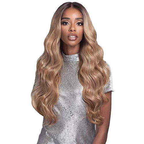 Bobbi Boss Human Hair Blend 13x4 Swiss Lace Front Wig MBLF180 Carmela