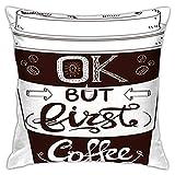 DRXX Pero el Primer café, Letras escritas a Mano de Estilo...