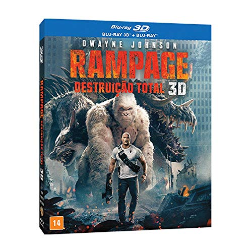 Rampage: Destruicao Total (3D) [Blu-ray]