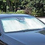 WE-WIN Pare-Brise de fenêtre Avant, Voiture Soleil Abat-Jour bonnette Parasol gardant Votre véhicule Cool,...