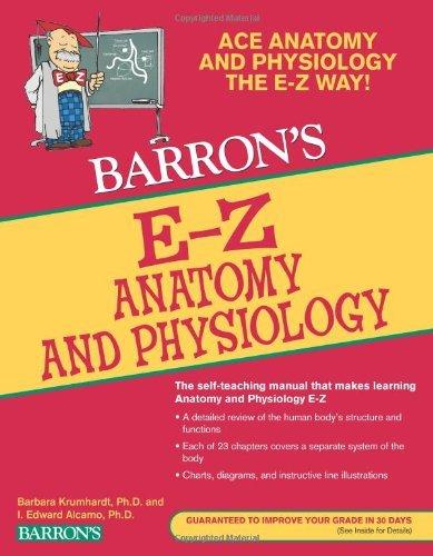 E-Z Anatomy and Physiology, 3rd Ed (Barron's E-Z) by I. Edward Alcamo (2010-09-01)