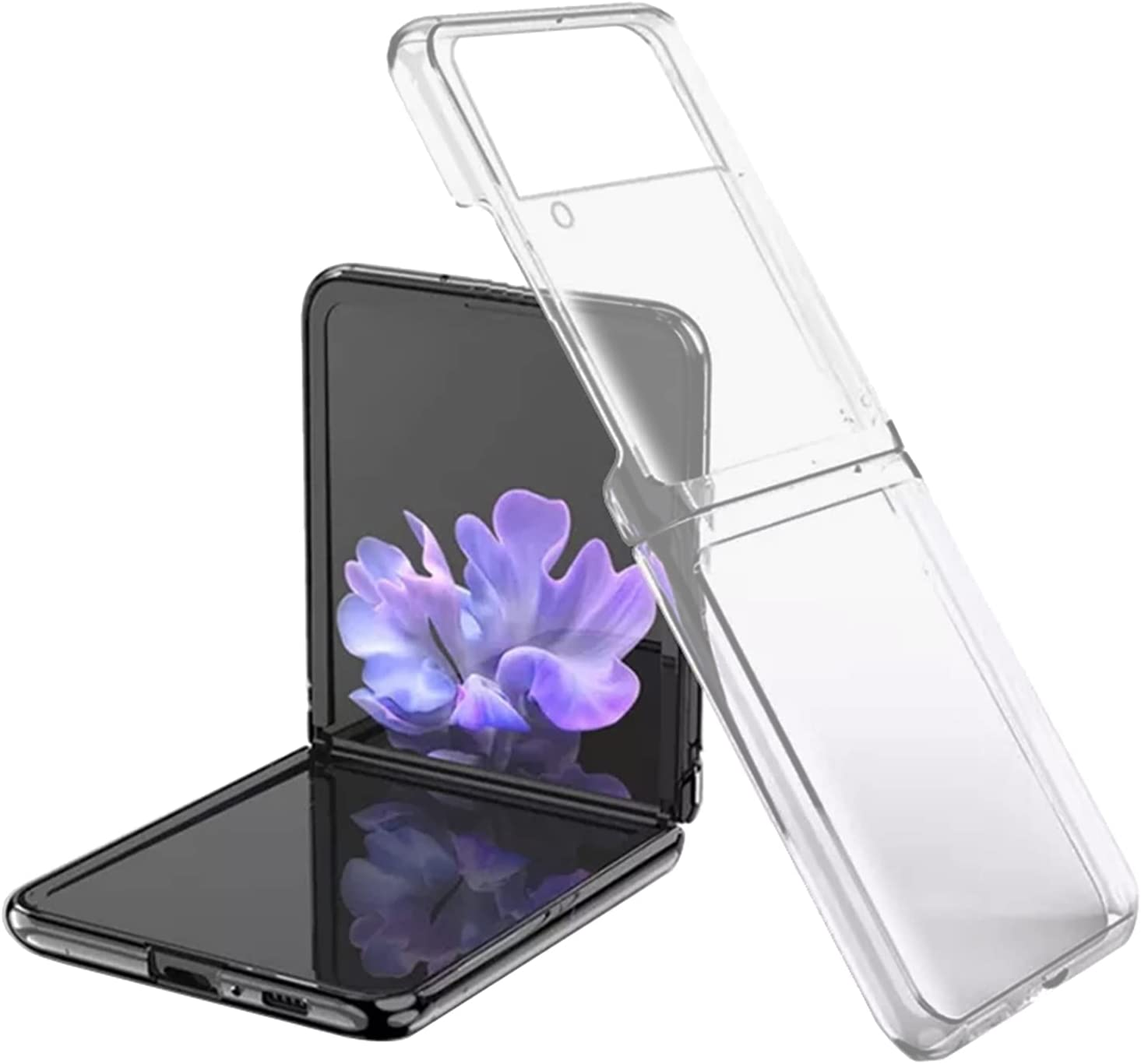 Phone Case for Galaxy Z Flip 3, Ultra Thin PC Hard Full Protection Case Compatible with Samsung Galaxy Z Flip 3 5G (Matte)