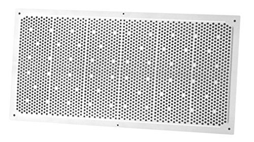 Duraflo 641608 Soffit Vent, 16-Inch by 8-Inch, White