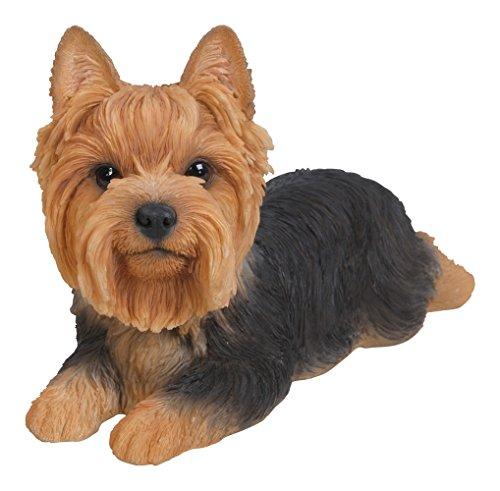hi-line Geschenk LTD Yorkshire Terrier Hund liegend Statue
