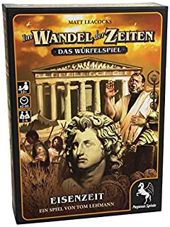 Pegasus Spiele 51788G - Im Wandel der Zeiten - Das Würfelspiel Eisenzeit (B00ICF0KZA) | Amazon price tracker / tracking, Amazon price history charts, Amazon price watches, Amazon price drop alerts