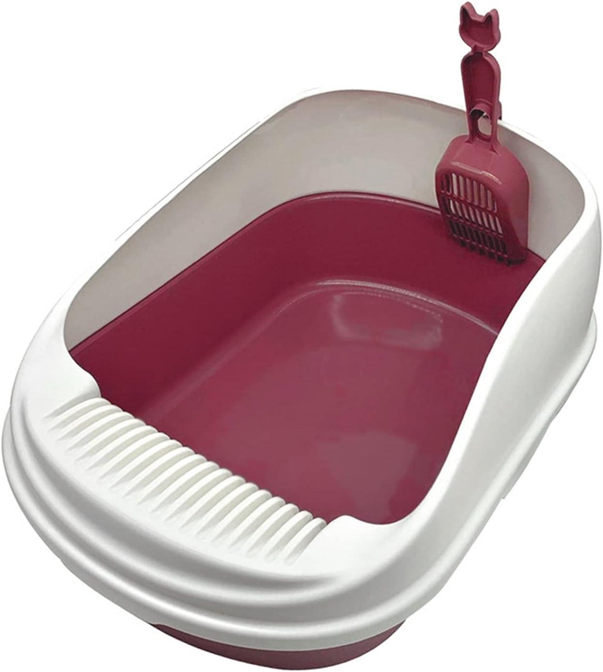 Pet El Paso Mall Price reduction Toilet XL Bedpan Anti Splash Cats Tray Box wi Cat Litter Dog