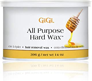 Gigi All Purpose Hard Wax Honey Hair Removal Wax 396 g/net Wt 14 oz
