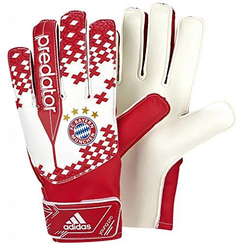adidas Erwachsene Torwarthandschuh FC Bayern München Pred Youpro, Wht/Fcbtru, 10, G73400
