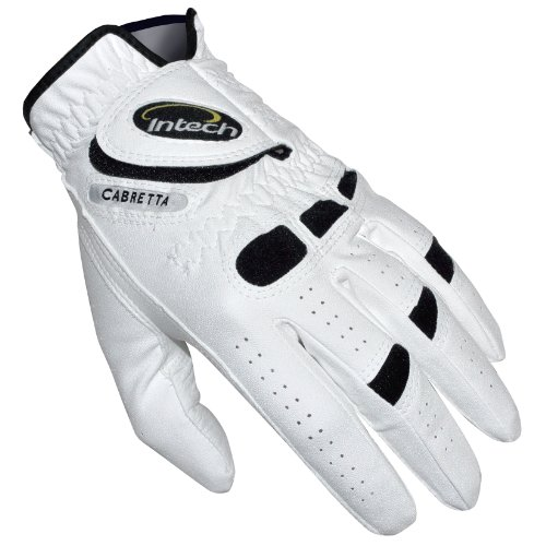 Intech Ti-Cabretta Men's Golf Gloves, Left-Hand, Small (6 Pack)