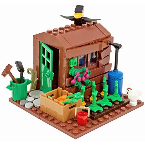 One More Brick Cobertizo de jardín | Piezas Real Iego