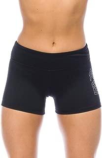 I AM BECOMING IABMFG 3 Stretch Yoga Booty Shorts - Fitness, WOD, Running