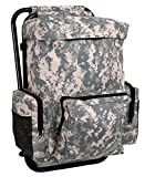 Rothco Backpack and Stool Combo Pack, ACU Digital Camo
