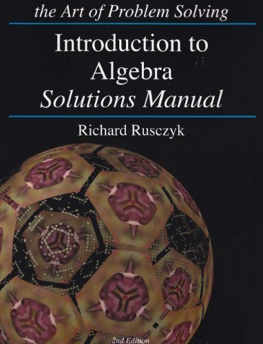 Introduction to Algebra Solution Manual