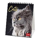 Legami - Calendario da Tavolo 2022, 12x14,5 cm, Cats