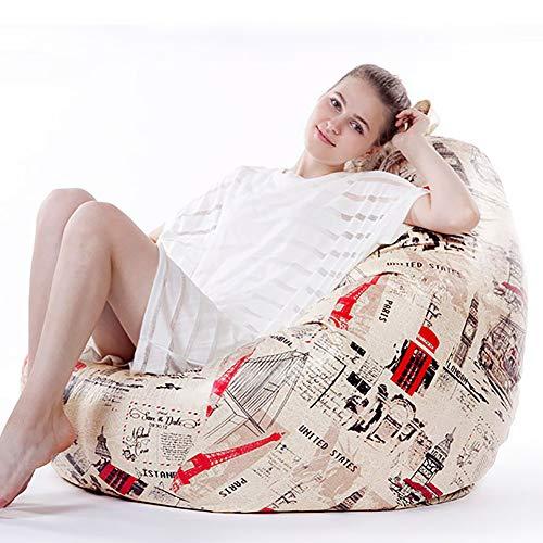 Los sillones puff, cuero microfibra sofá perezoso