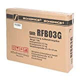 SONGMICS 3 Stück faltbox mit Deckel Faltbare Aufbewahrungsbox Stoffbox 40x30x25cm (Grau) RFB03G - 4