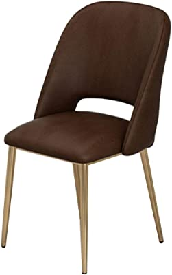 Amazon.com: Towero Nordic Solid Wood Dining Chair Hotel high ...