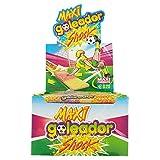 Goleador Maxi Shock, la Doppia Caramella Gommosa Ricoperta di Zucchero, Box da 130 Pezzi, ...
