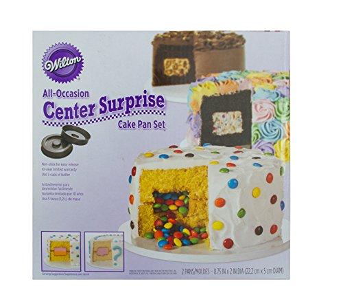 Wilton All Occasion Center Surprise Cake Pan Set