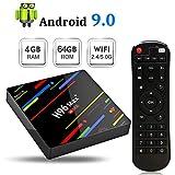 H96Max+ Android TV Box 9.0 [4GB+64GB] 4K Ultra HD Boîtier TV RK3328 Quad-Core 64bit CPU Bluetooth 4.0 Dual Band WiFi...