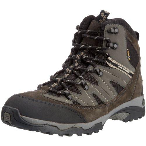 Jack Wolfskin 4002252-6101090, All Terrain Texapore Women Zapatos de Senderismo, Talla 43 EU Mujer, Shadow Black