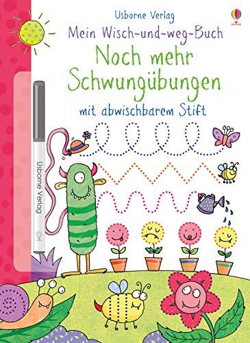 Mein Wisch-und-weg-Buch: Noch mehr Schwungübungen: mit abwischbarem Stift
