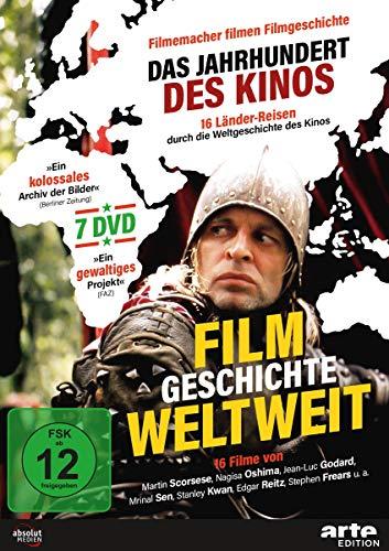 Filmgeschichte weltweit - Das Jahrhundert des Kinos [7 DVDs]
