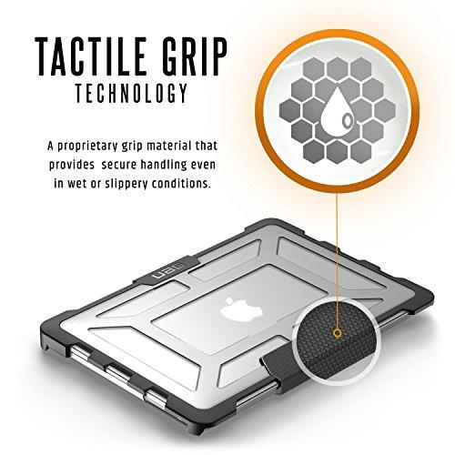 Urban Armor Gear Plasma para Apple MacBook Pro 13.3 (Late 2016 - Mid 2018) Funda con estándar Militar Estadounidense Case - Transparente