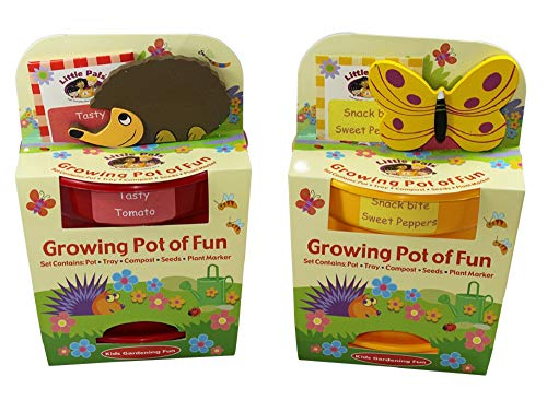 Little Pals Tomato and Peppers Pots of Fun