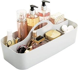mDesign panier rangement salle de bain, 11 compartiments – boite rangement salle de bain et douche – grande boite rangemen...